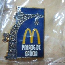 Pins de colección: PIN MC DONALDS PASSEIG DE GRACIA (BARCELONA). Lote 50240067