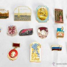 Pins de colección: 16 PINS URSS SELECCION. Lote 50314743