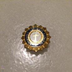 Pins de colección: ANTIGUA MEDALLA PIN ADORACIÓN NOCTURNO ESPAÑOL, DE LOS AÑOS 50 . Lote 50362109