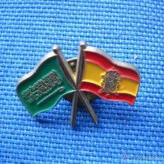 Pins de colección: PIN ARABIA SAUDI - EXPO 92 - BANDERAS. Lote 50603451