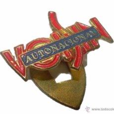 Pins de colección: ANTIGUA INSIGNIA BISCUTER VOISIN AUTONACIONAL.. Lote 47372042