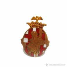 Pins de colección: ANTIGUA INSIGNIA PIN DE SOLAPA ESMALTADA- EXPOSICION INTERNACIONAL DE BARCELONA 1929. Lote 46493136