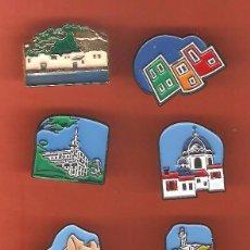 Pins de colección: 6 PINS - PAISAJES Y MONUMENTOS PROVINCIA DE ALICANTE. Lote 51172807