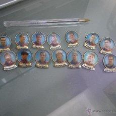 Pins de colección: 15 PINS BARÇA (KOEMAN, NADAL, LAUDRUP. . . . Lote 51506697