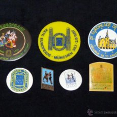 Pins de colección: LOTE DE 7 AGUJAS PIN EUROPEADE FOLCLORE FOLKLORE. VARIOS AÑOS. Lote 51607706