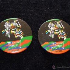 Pins de colección: LOTE DE 2 AGUJAS 750 ANIVERSARIO JAUME I. AJUNTAMENT DE VALENCIA 1988. Lote 51607736