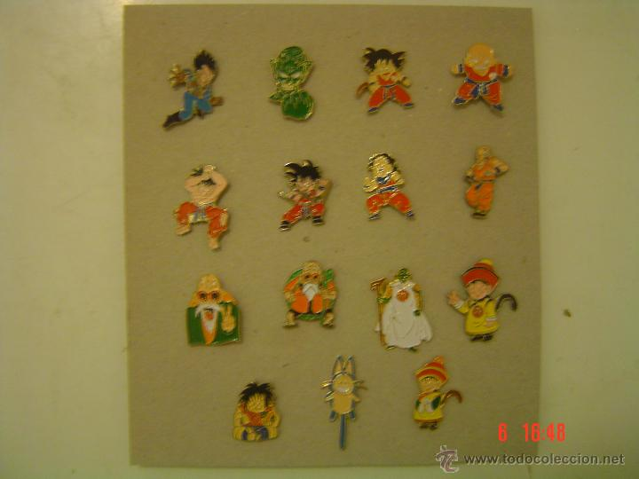 Pins de colección: LOTE DE 15 PINS DE DRAGON BALL - Foto 1 - 51671856