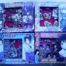 Pins de colección: CAJAS DE PINS. NARUTO, DEATH NOTE, JICOKU SHOUJO, SYAROAN SAKURA. Lote 52724022