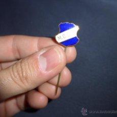 Pins de colección: ANTIGUA INSIGNIA DE FUTBOL ? A IDENTIFICAR. Lote 53017562