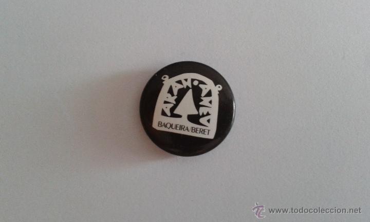 CHAPA DE BAQUEIRA BERET (Coleccionismo - Pins)