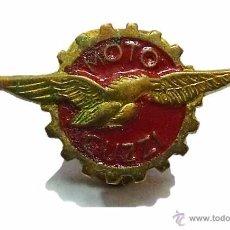 Pins de colección: ANTIGUA INSIGNIA PIN MOTO GUZZI. Lote 53182029