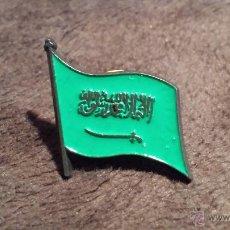 Pins de colección: PIN DE BANDERA DE ARABIA SAUDÍ. Lote 53352687