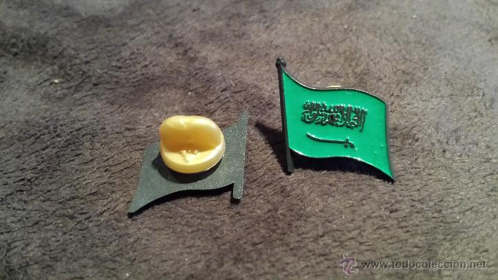 Pins de colección: PIN DE BANDERA DE ARABIA SAUDÍ - Foto 2 - 53352687