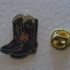 Pins de coleção: PIN DE TURISMO. TEXAS, ESTADOS UNIDOS. BOTAS RODEO.. Lote 53476965