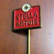 Pins de colección: INSIGNIA ANTIGUA AGUJA CERVEZA BEER STELLA ARTOIS. Lote 53716323
