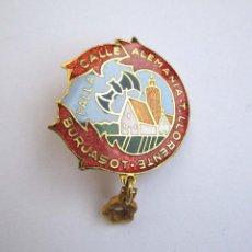 Pin's de collection: INSIGNIA ANTIGUA CALLE ALEMANIA T. LLORENTE BURJASOT PIN FALLAS VALENCIA BURJASSOT. Lote 53978882