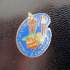 Pins de colección: INSIGNIA ANTIGUA DE FALLAS FALLA AVENIDA JOSE ANTONIO DUQUE DE CALABRIA PINS FALLAS VALENCIA. Lote 205876038