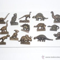 Pins de colección: LOTE DE 14 PINS DE DINOSAURIOS. Lote 54660320