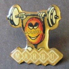 Pins de colección: PIN DORADITA MARBÚ. Lote 54951827