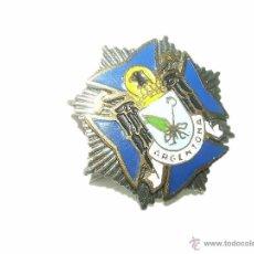 Pins de colección: ANTIGUA INSIGNIA ESMALTADA......DE PLATA....ARGENTONA. Lote 40969506