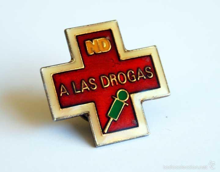 PIN NO A LAS DROGAS (Coleccionismo - Pins)