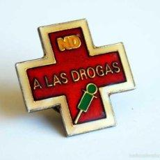 Pins de colección: PIN NO A LAS DROGAS. Lote 55359208