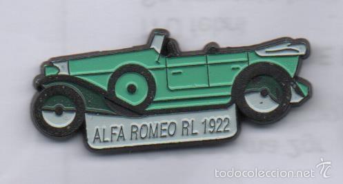Pin Coche Alfa Romeo Rl 1922 Comprar Pins Antiguos Y De Coleccin