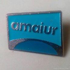 Pins de colección: PIN POLITICO AMAIUR. COALICION POLITICA VASCA EUSKADI. (PINS POLITICOS, CHAPAS POLITICAS). Lote 111610168