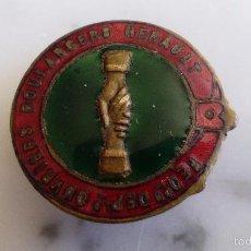 Pins de colección: PINS DE HOJAL ESMALTADO - GRANDIN 1 GRAND RUE MOMTPELLIER. Lote 55702977