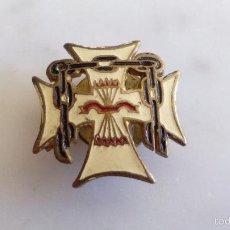 Pins de colección: PINS DE HOJAL - CRUZ - CADENA - YUGO Y LAS FLECHAS - CICAR S.L.BARCELONA. Lote 55701637