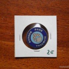 Pins de colección: BADGER PASS YOSEMITE, ESTACION DE ESQUI DE CALIFORNIA, ESTADOS UNIDOS . Lote 56242353