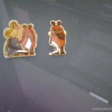 Pins de colección: 2 PINS PERSONAJE DIBUJOS INFANTILES ( ¿?). Lote 56533491