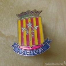 Pins de colección: VIEJO PIN INSIGNIA MEDIANA DE LERIDA - LLEIDA - ES DE AGUJA -3X2. Lote 56644974