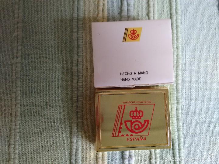 Pins de colección: PIN SELLO DE LA EXPO 92, SEVILLA. SELLO OSAKA. Caja original. Excelente estado, como nuevo - Foto 3 - 57072850