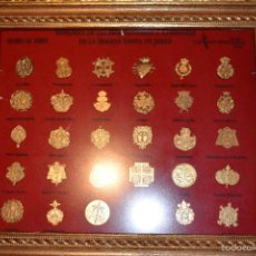 Pins de colección: INSIGNIAS DE LAS HERMANDADES Y COFRADIAS DE LA SEMANA SANTA DE JEREZ CON MARCO. Lote 57153609