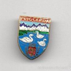 Pins de colección: INSIGNIA DE AGUJA - PUIGCERDA. Lote 57346120