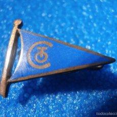 Pins de colección: ANTIGUA INSIGNIA DE IMPERDIBLE - SIN DETERMINAR POR EL MOMENTO - ESMALTADA. Lote 57489799
