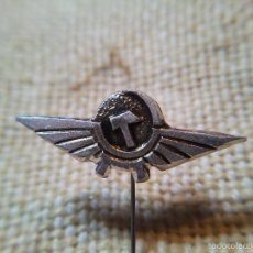 Pins de colección: PIN AGUJA AEROFLOT – LÍNEAS AÉREAS RUSAS AÑOS 60 AEROLINEAS - AVION - AVIONES - INSIGNIA. Lote 57608926
