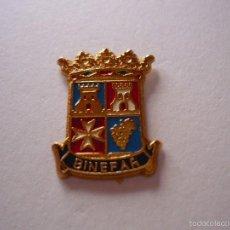 Pins de colección: PIN HERALDICO DE BINEFAR (HUESCA). Lote 58894171