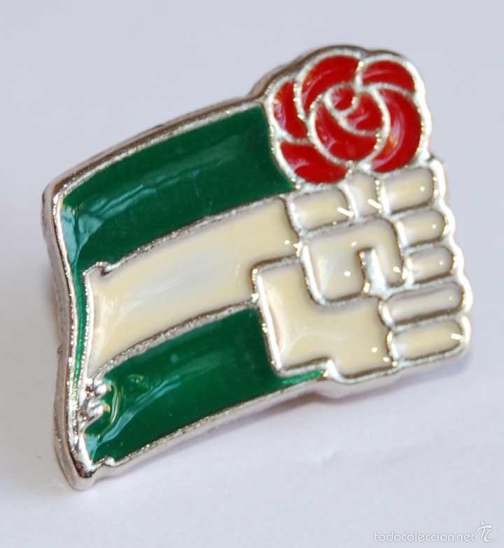 PIN PSOE ANDALUCÍA (Coleccionismo - Pins)