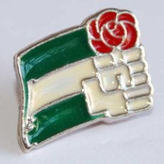 Pins de colección: PIN PSOE ANDALUCÍA. Lote 57769502