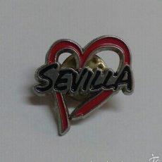 Pins de colección: PIN SEVILLA CORAZON. Lote 57831695