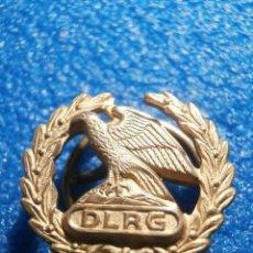 Pins de colección: INSIGNIA ALEMANA DE OJAL - D. L. R. G - DEUTSCHE LEBENS RETTUNGS GESELLSCHAFT - CIA ALEMANA RESCATE. Lote 57841581