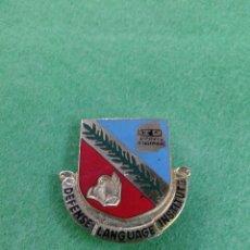 Pins de colección: PIN DEFENSE LANGUAGE INSTITUTE. Lote 57842655