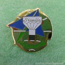Pins de colección: PIN AEROPUERTO DE SEVILLA. Lote 57919228