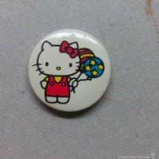 Pins de colección: PIN, CHAPA AGUJA HELLO KITTY - DIAMETRO 2,5 CM.. Lote 58159690