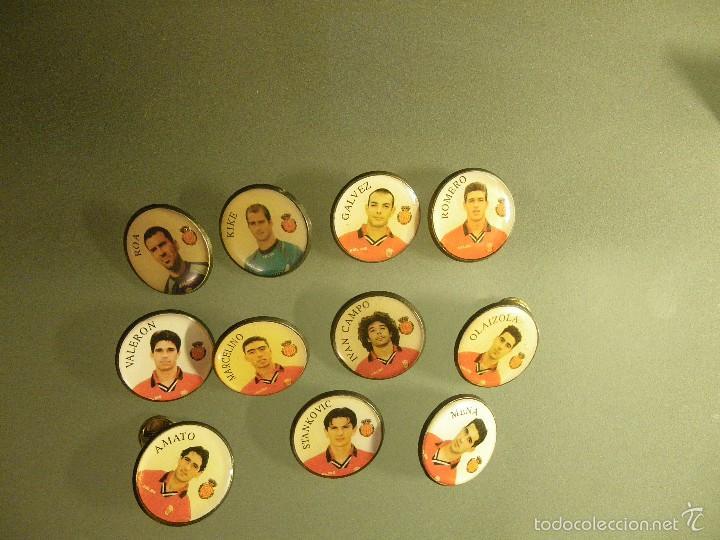 11 PINS REAL MALLORCA (3 DEFECTO EN PUA) (Coleccionismo - Pins)