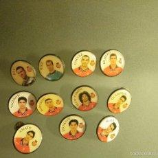 Pins de colección: 11 PINS REAL MALLORCA (3 DEFECTO EN PUA). Lote 58561101