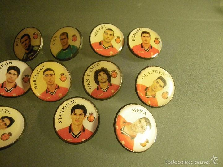 Pins de colección: 11 PINS REAL MALLORCA (3 DEFECTO EN PUA) - Foto 2 - 58561101
