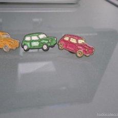 Pins de colección: 4 PINS COCHE MINI?, DIFERENTES COLORES. Lote 58565619